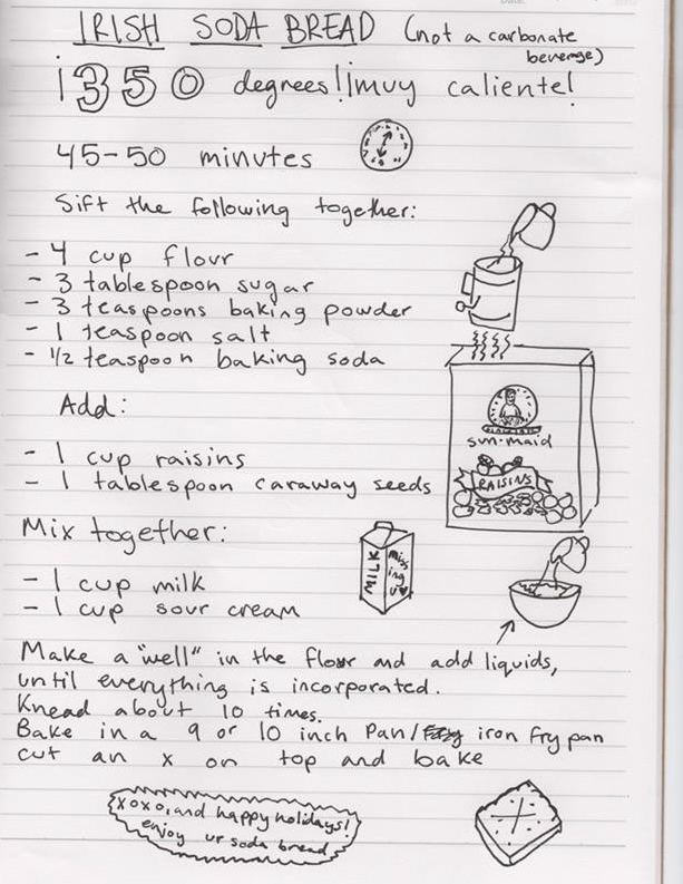 Livy's Irish Soda Bread Recipe