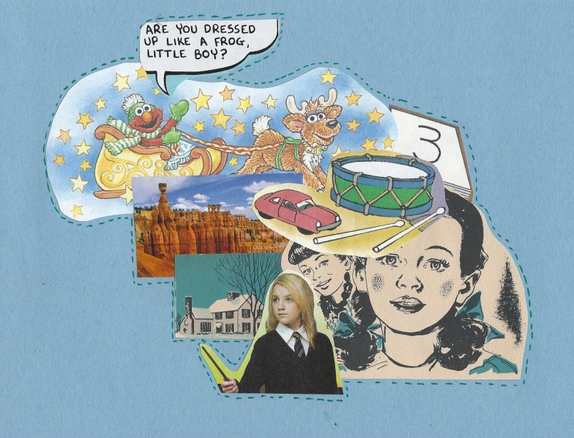 Collage by Rachel Davies