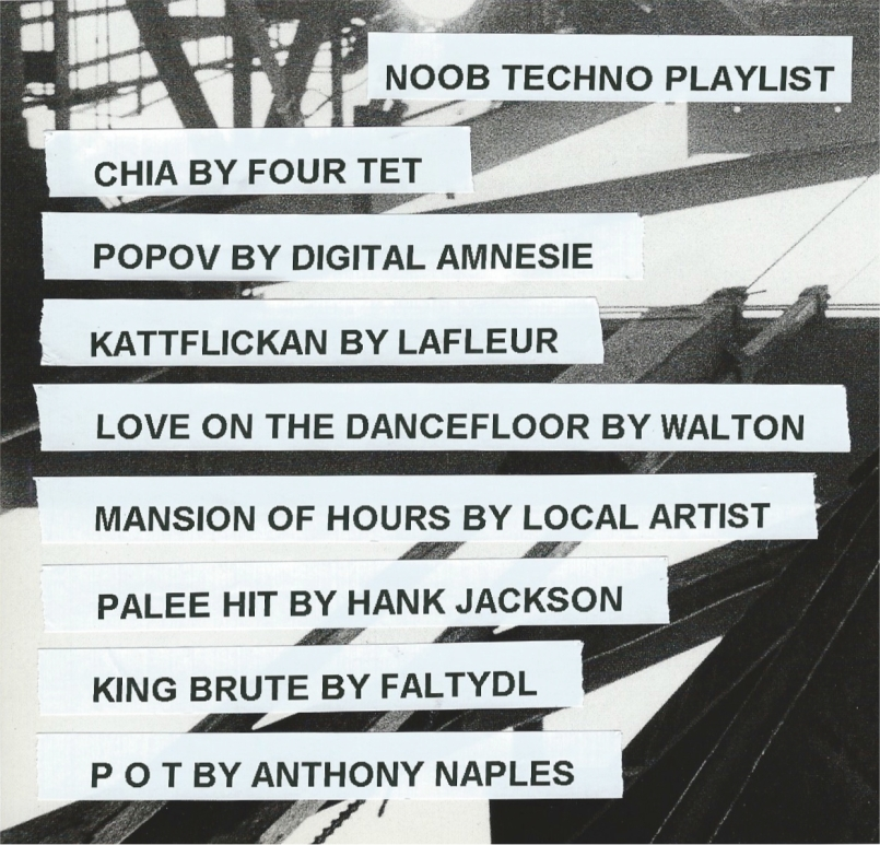 noob techno playlist