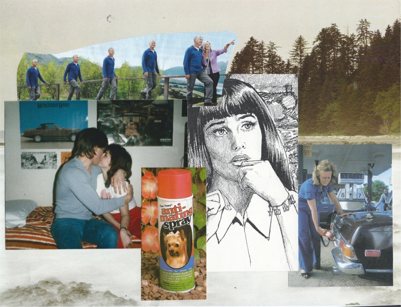 Collage by Rachel D