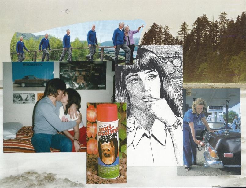 Collage by Rachel D